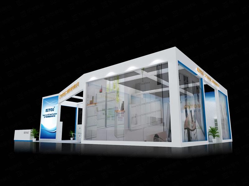 机械展会设计_机械展览展示powered