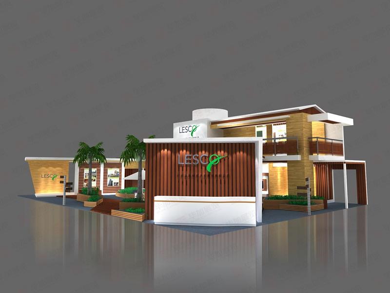 绿可建材展设计搭建