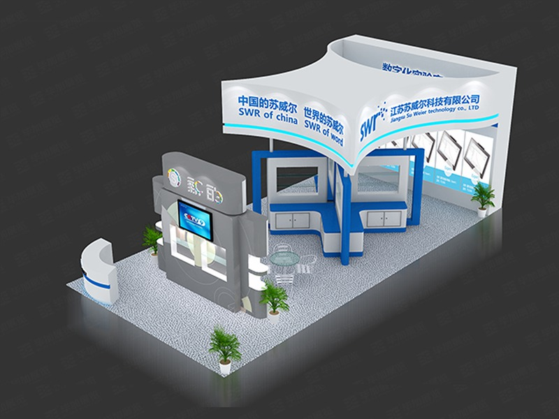 苏威尔教育展设计搭建