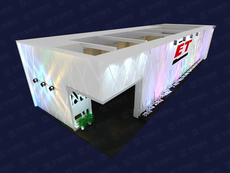 光电照明展展台搭建