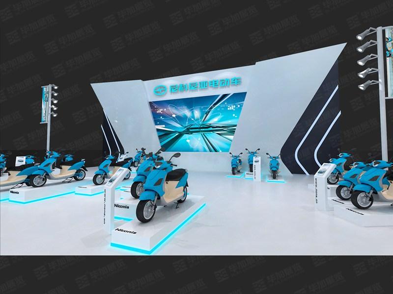 尼科尼亚汽车展设计布置