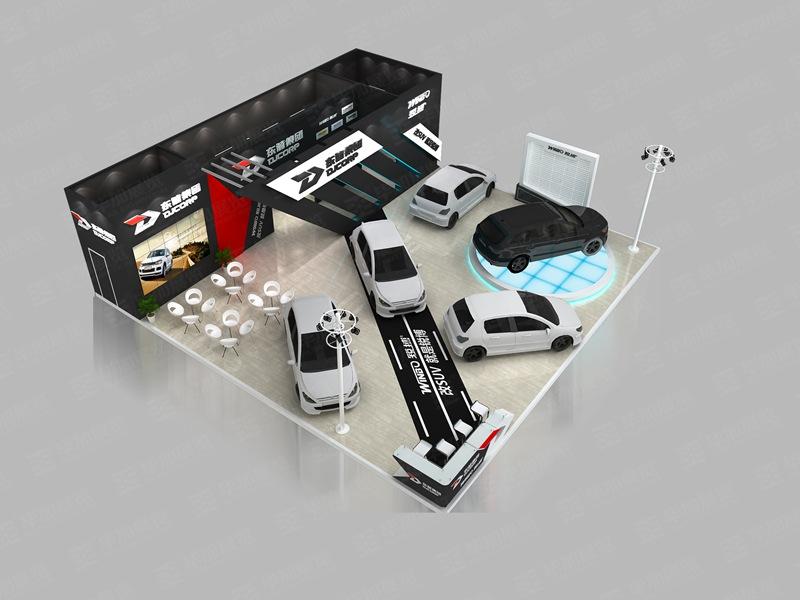 东箭汽车展展览设计搭建