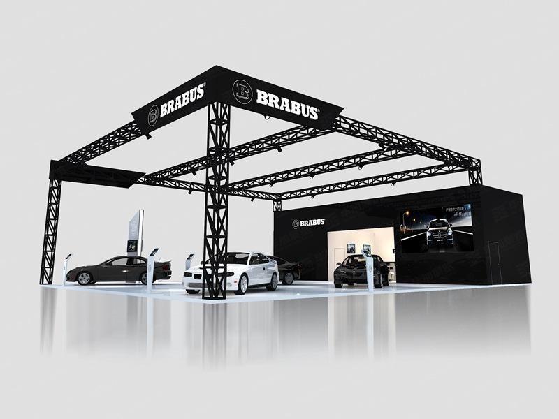 巴博斯—汽车展展览设计