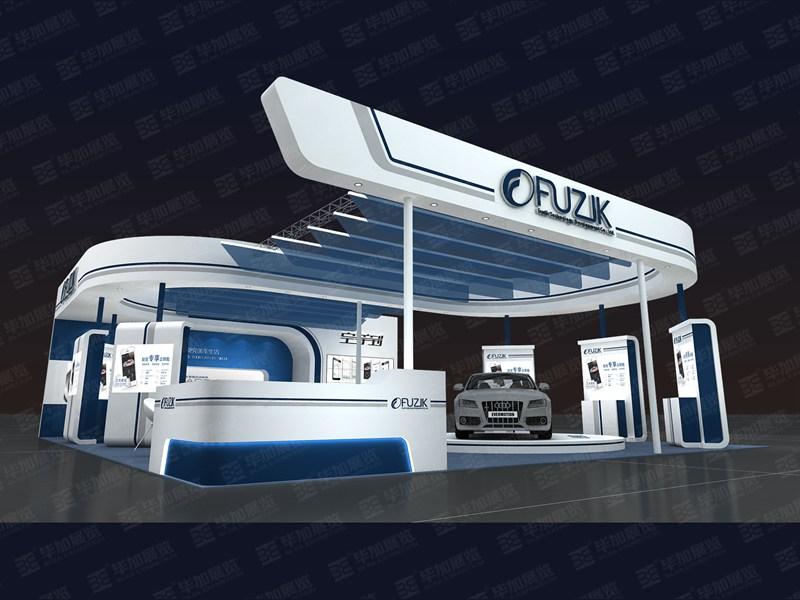 重庆桴之科汽车改装展台设计搭建