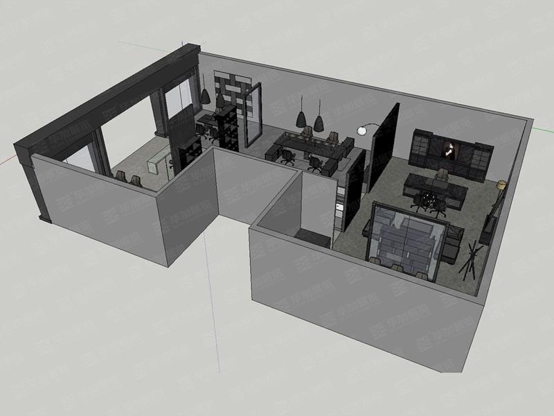 华桂家具展展位设计搭建