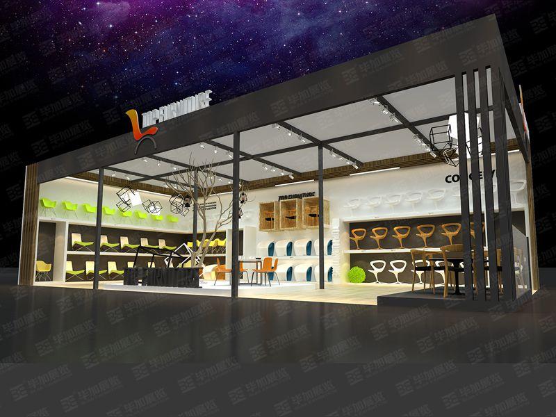 珠峰家具展展位设计搭建