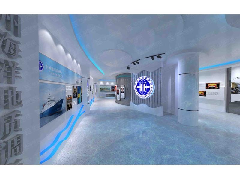 海洋地质—展厅案例