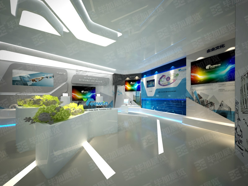 天闻数媒科技—展厅案例