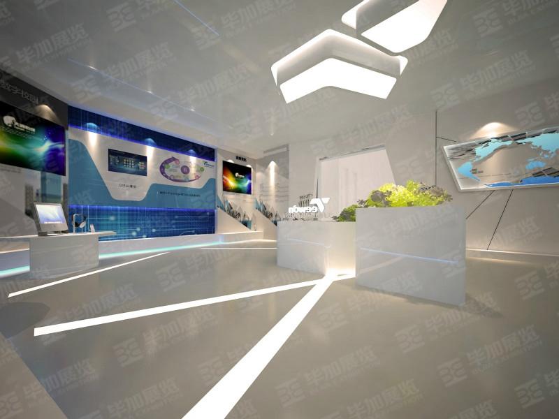 天闻数媒科技展厅设计