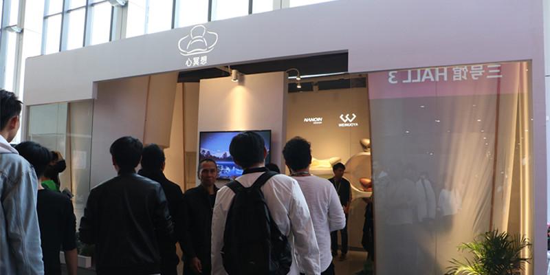 广州设计周毕加展览搭建唯诺雅家具获得客户大力好评