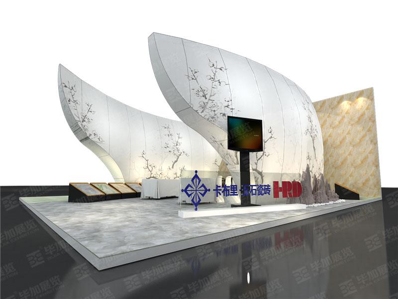 万叶陶瓷—建材展展台搭建