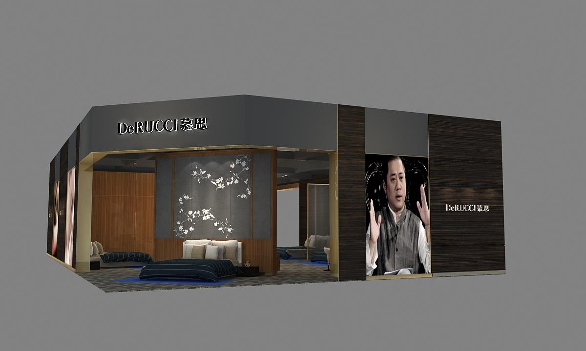 酒店用品展台设计