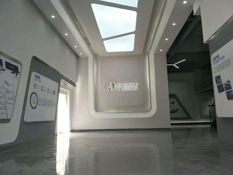 乾行达科技—展厅设计装修案例