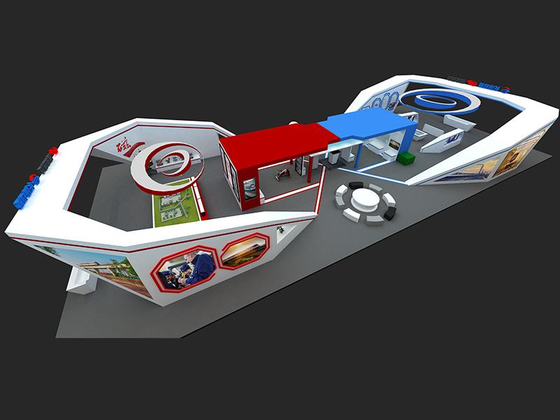 长沙城轨集团——轨道交通展设计搭建