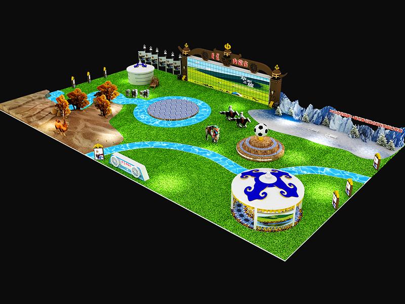 内蒙古——体博会展台设计