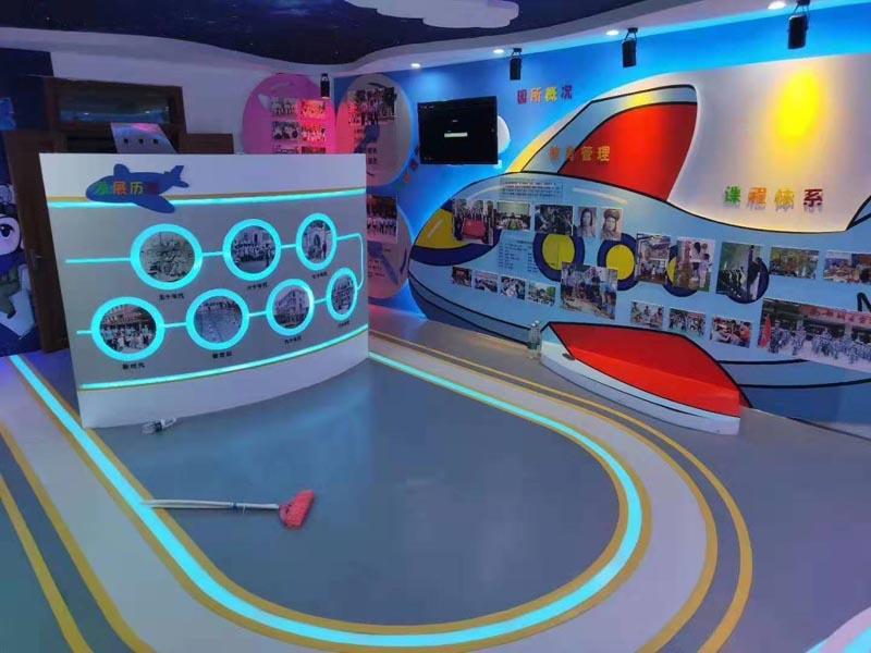 空军蓝天幼儿园展厅设计装修