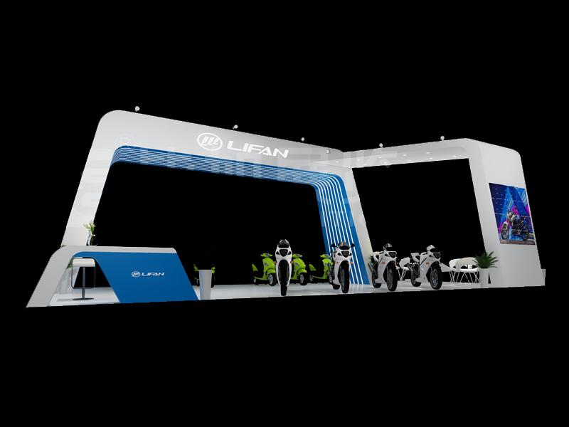 力帆集团—摩配展展览设计