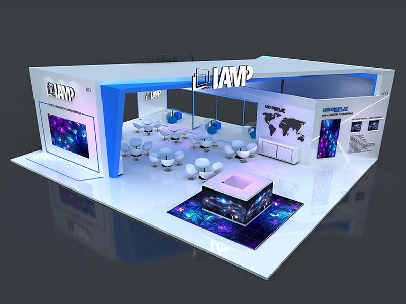蓝普科技——LED展设计装修