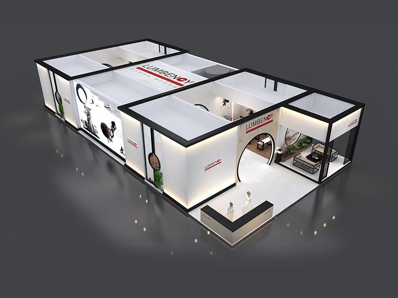 耐贝西——照明展设计搭建