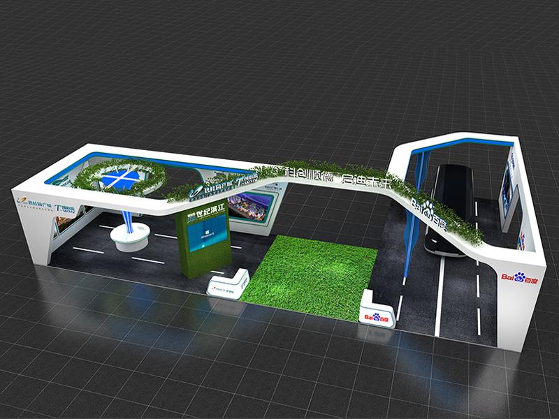 碧桂园——房产展会设计搭建