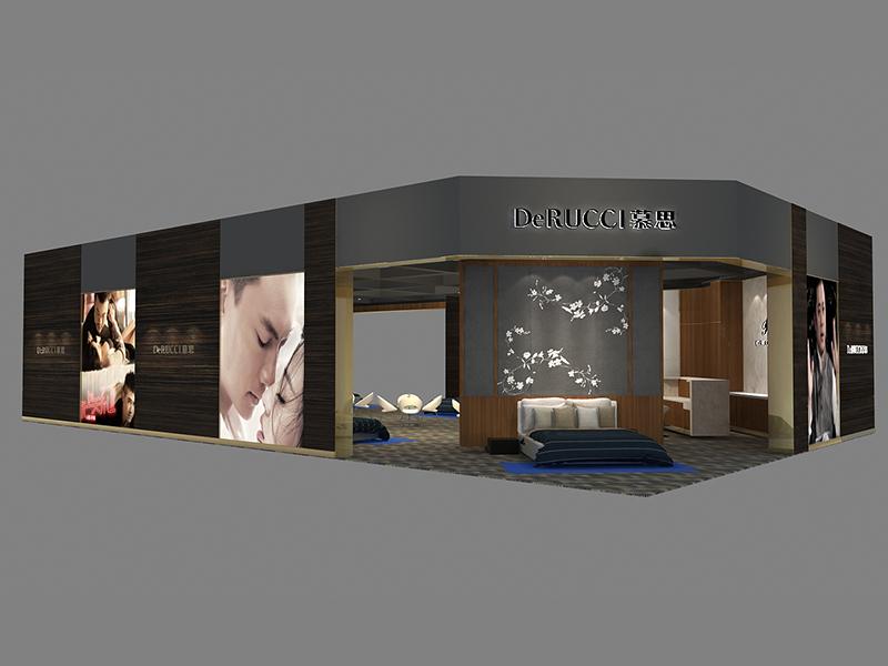慕思——酒店用品展展台设计