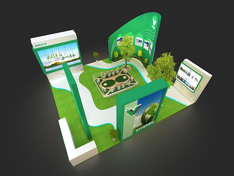 威典——环保展设计搭建