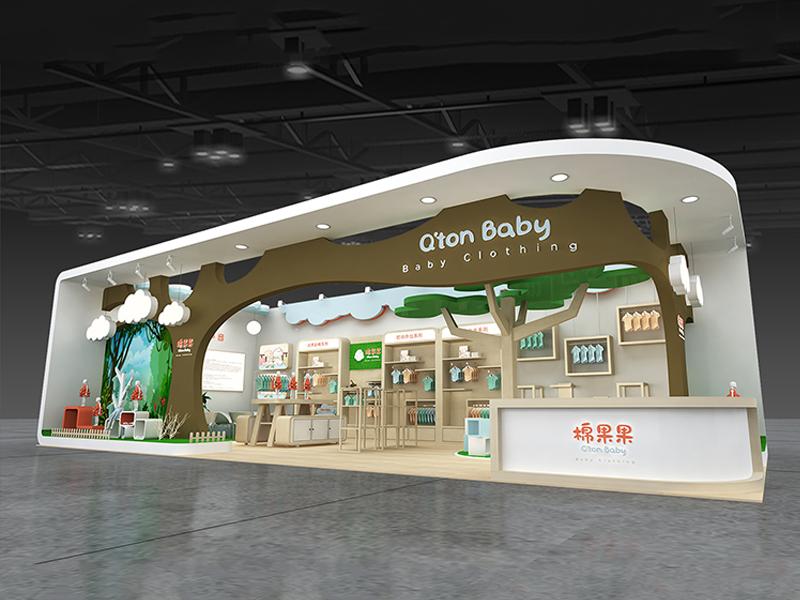 棉果果——孕婴展展台搭建
