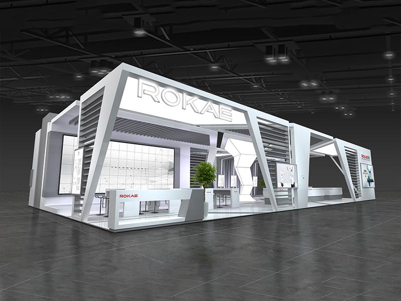 珞石——机械展设计搭建