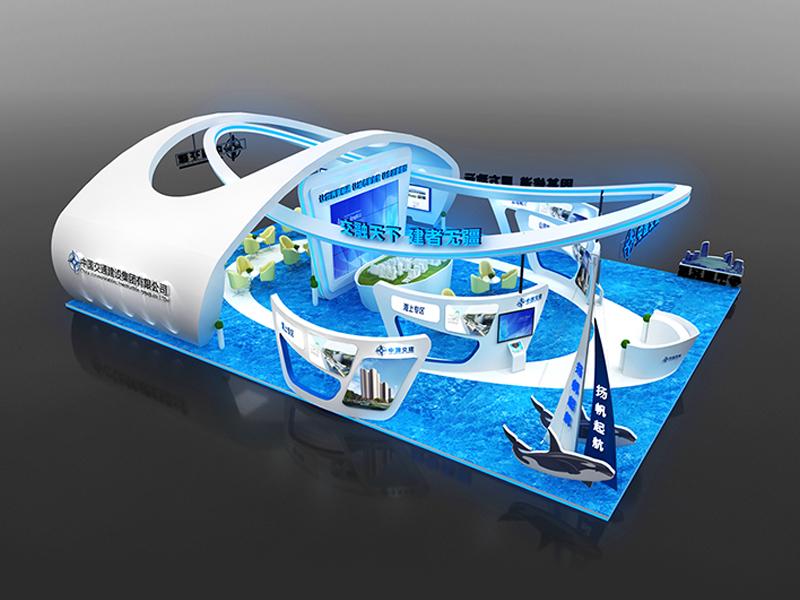 中国交通——游艇展展台搭建