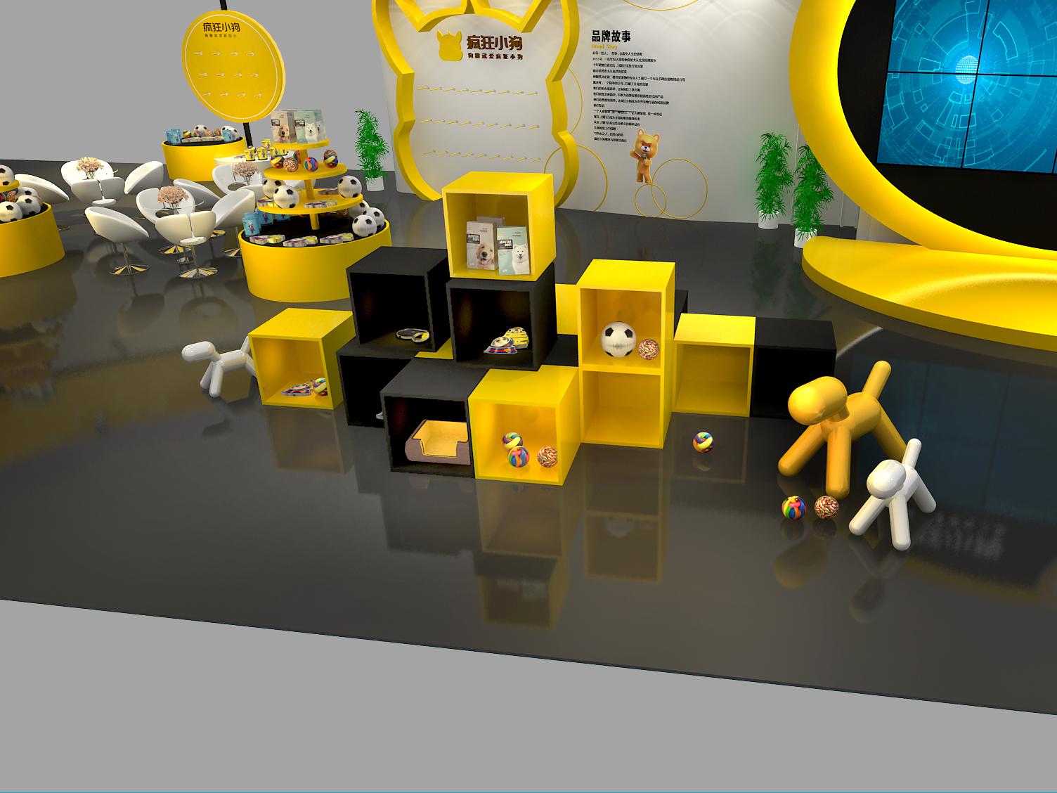 宠物展展台设计