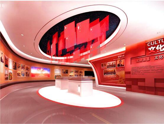 淄博理想信念馆——党政展厅设计装修