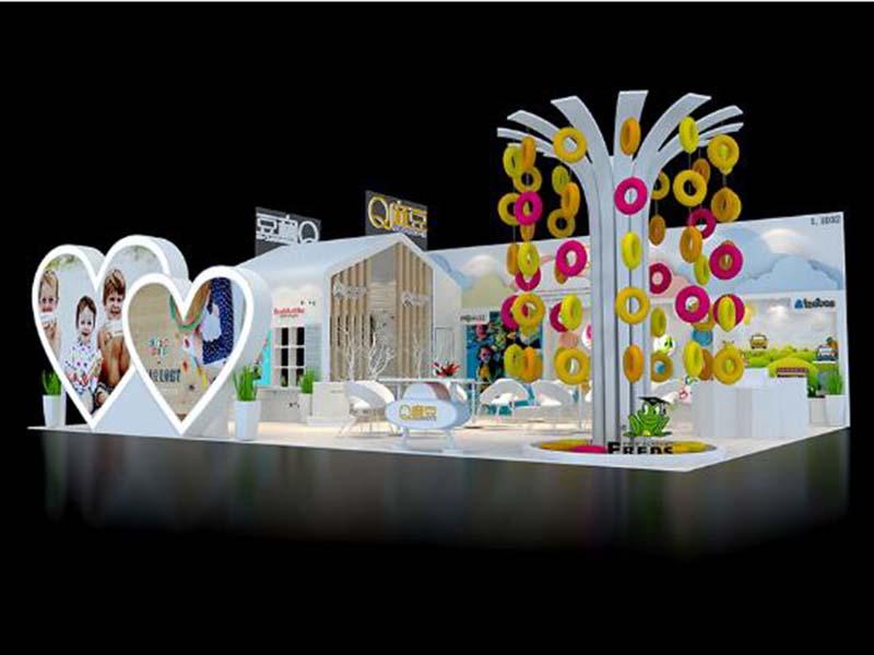 大头无线——婴童展展台搭建