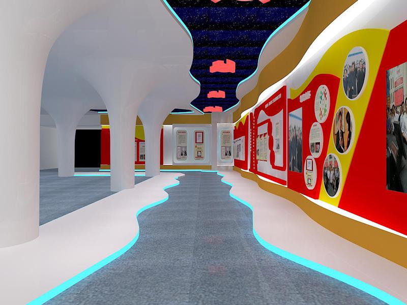 台州传化文化墙展厅