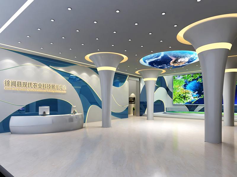 徐聞科技農業館——新農業展廳設計裝修