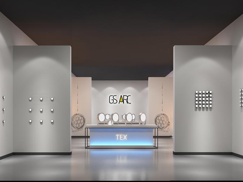 浩洋电子—灯光照明展厅设计施工