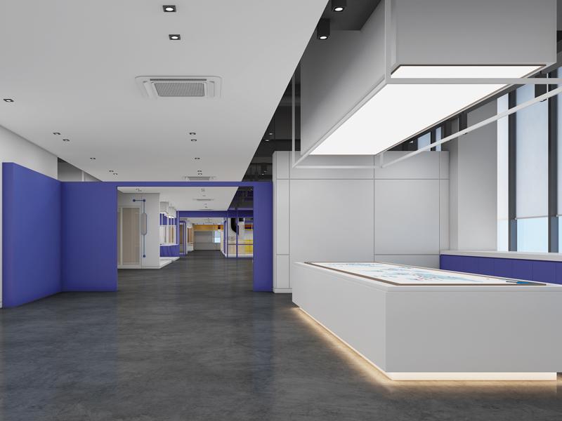 坚朗—建材门窗展厅设计装修