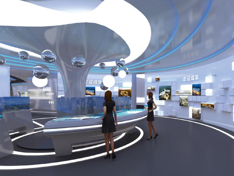 井冈山城市规划馆—城市规划馆设计装修