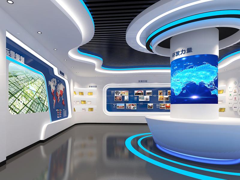 美邦药业—展厅设计