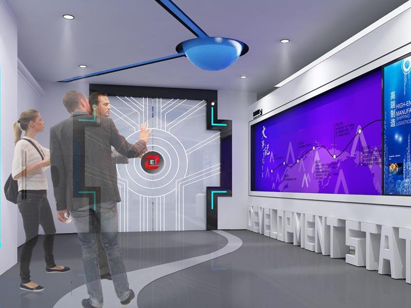 南昌星火—产业园工厂展厅设计装修