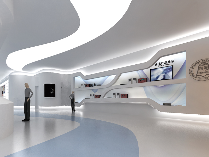 清华创新大厦—展厅设计