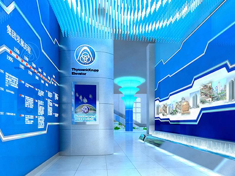 蒂森克虏伯—电梯展厅设计装修