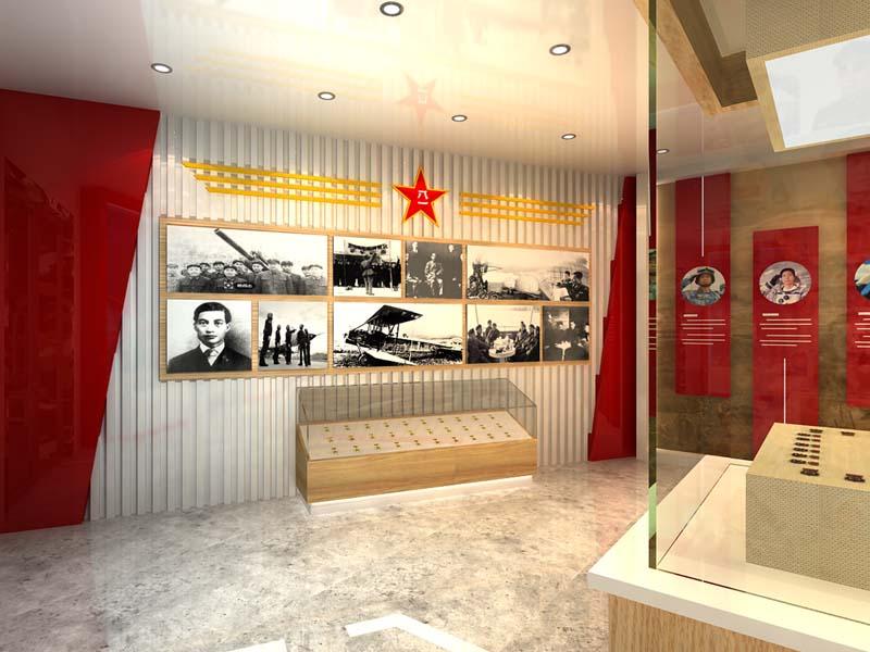 军用航空展示馆——军事展厅设计装修