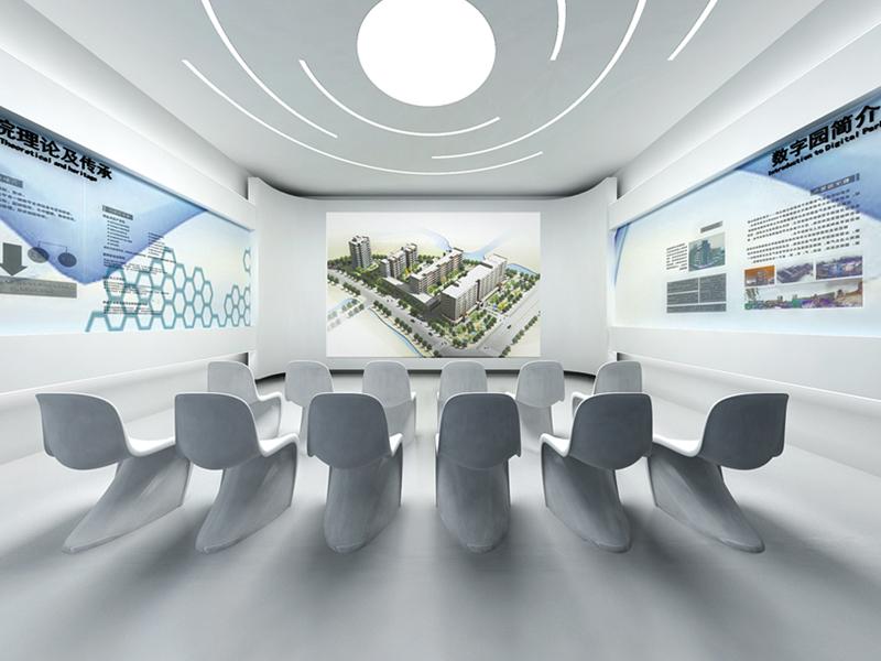 清华创新大厦清华创新大厦—物业办公楼展厅设计