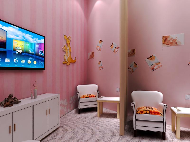 袋鼠媽媽—母嬰用品展廳設計裝修