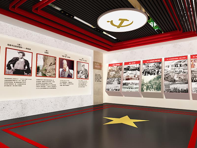 黨建展廳設計