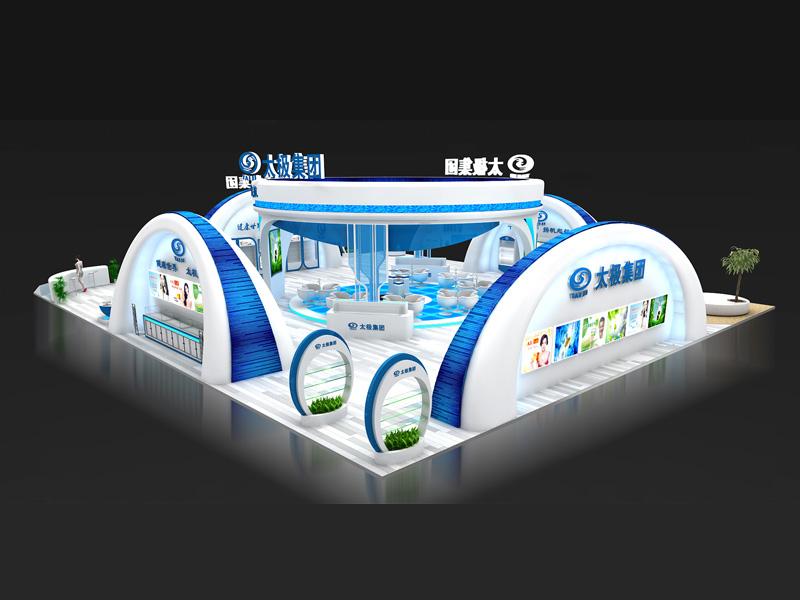 太极集团——药品展展览设计