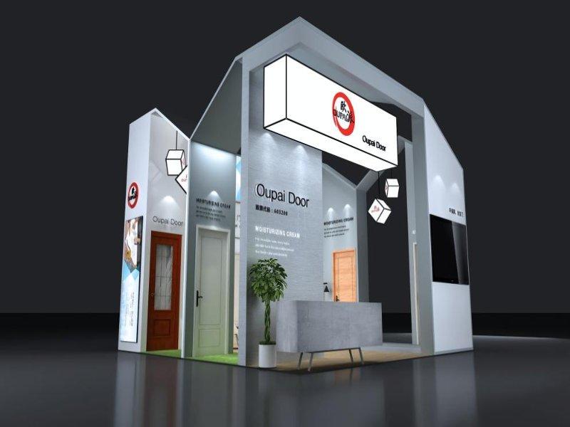 江山欧派——广交会展览设计