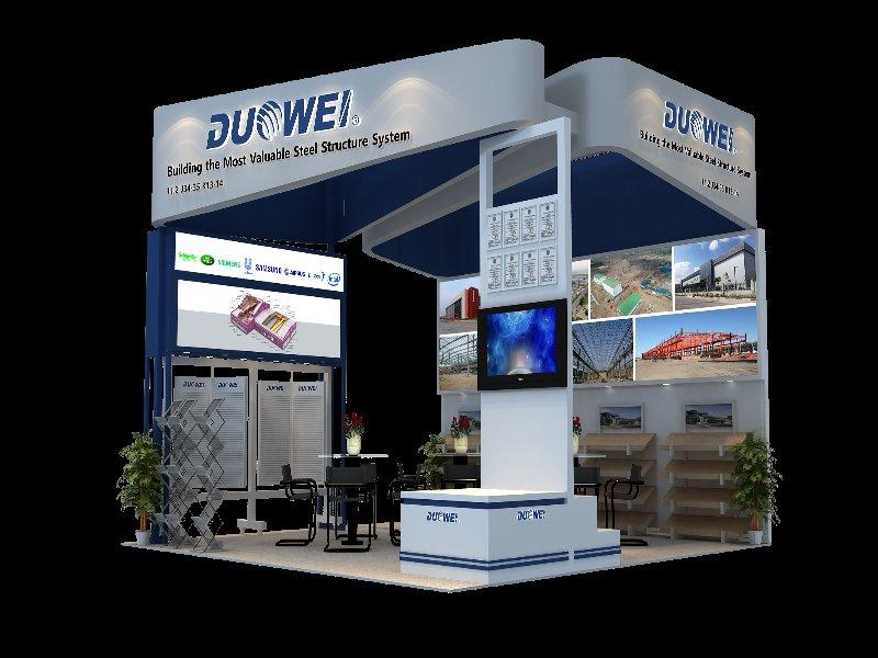 北京多維艾斯特——廣交會展覽設計