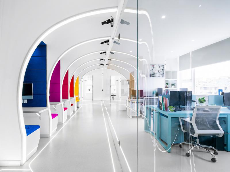 京翰教育——办公室设计装修