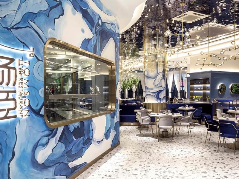 汤臣茶点—餐厅设计